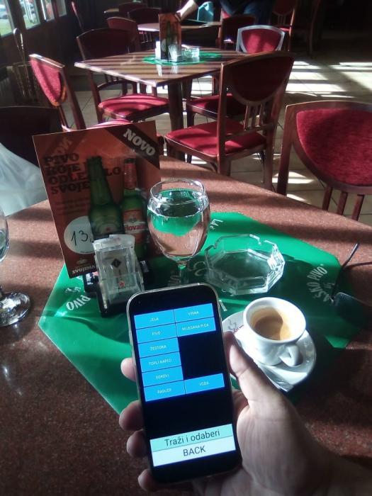 Narudzbe sa stolova bezicno - ugostiteljstvo Astrum software