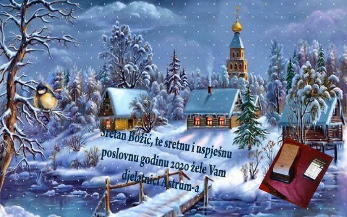 Sretan Božić i Nova 2020 !