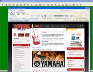 Web shop Music Max